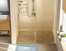 redi free barrier free shower pan 30 x 48 center drain