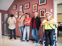 siege adapei les artistes cro magnon exposent au siège de l association