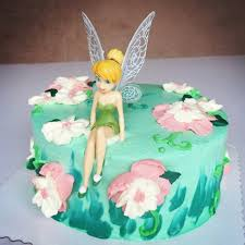 baby birthday cake 6pcs set beautiful tinkerbell princess doll cake topper