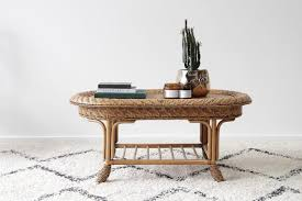 small foyer table ls coffee tables naturally cane rattan and wicker furniture