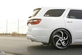 Dodge Durango White - durango savini wheels