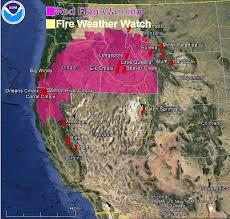 map of oregon smoke flag warnings and smoke map august 22 2013 wildfire today