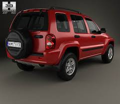 jeep cherokee sport 2002 jeep cherokee kj 2002 3d model hum3d