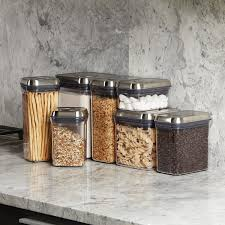 amazon com oxo steel 5 piece airtight food storage pop container