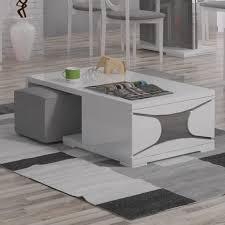 Hokku Designs Coffee Table Hokku Designs Ravenne Coffee Table With Nested Stools U0026 Reviews