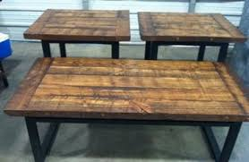 Old Wooden Coffee Tables by Coffee End Tables