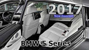 bmw inside 2017 2017 bmw 5 series concpet new interior design youtube