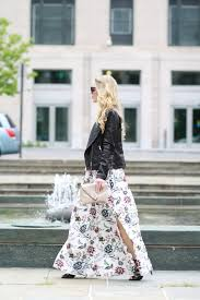lace up moto boots edgy floral maxi dress moto jacket u0026 lace up booties