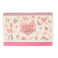 bureau d o king do way 2017 calendrier de table bureau maison desk calendar