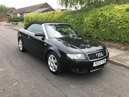 audi a4 1 8 t cabriolet petrol convertible manual turbo soft top