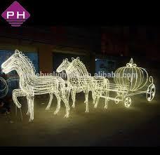 outdoor lights reindeer and sleigh 51771 astonbkk