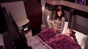 Double Bed by Qatar U0027s New Pods Let Guests Create Double Bed Travel Weekly