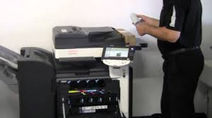how to replace toner cartridges in bizhub c220 c280 c360 youtube