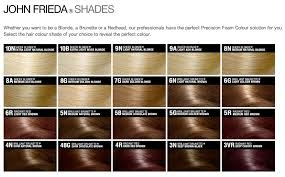 Colour Shades Review Shades John Frieda Precision Hair Colour Foam