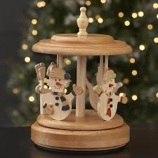 music box carousel woodworking plan from wood magazine