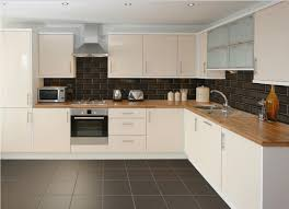 black and cream kitchen wall tiles