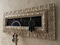 key holder wall homely idea decorative key holder for wall antique silver ornate