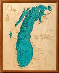 Wisconsin Lake Maps by 3d Laser Carved Wood Lake Maps Lakehouse Lifestyle