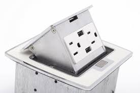 Lew Electric Pop Up Outlet by Lew Electric Pufp Ct Ow 2usb Kitchen Countertop Pop Up 15a Outlet