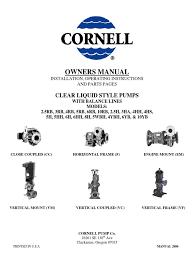 clear liquid pump manual bearing mechanical