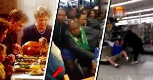 stedes brawls and chaos black friday shoppers go just
