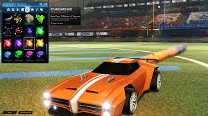 standard red boost bring orange rocketleague