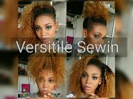 ponytail haircut for me shaved sides versatile curly sewin for shaved sides youtube
