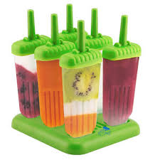 amazon com chuzy chef ice pop maker popsicle mold set with tray