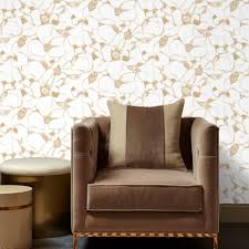 splash wallpaper in gold from the kelly hoppen 2017 collection by