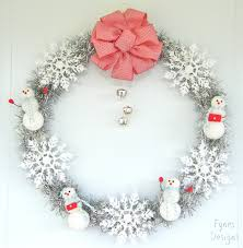 12 days of door decor day 3 simple sparkly wreath discover