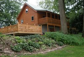 House With Porch by Small Log Cabin Homes Susquehanna Log Cabin Home Kit