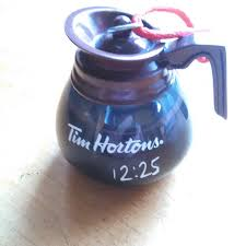 find more tim horton s coffee pot ornament for sale at