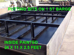 Barge Draft Tables Barges Construction Truckable Pin Together
