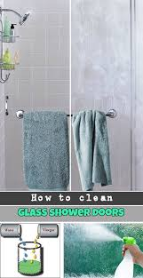 the 25 best cleaning glass shower doors ideas on pinterest