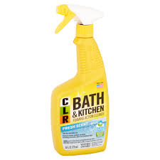 clr bath u0026 kitchen cleaner 26 fl oz fresh scent spray walmart com