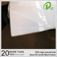 corian material dio acrylique feuille de stratifi礬 acrylique blanc corian feuille