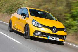 renault yellow renault clio renaultsport 220 trophy 2016 review auto express