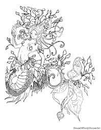 sea dragon coloring pages cooloring cartoon leafy sea dragon