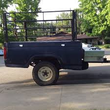 Ford F150 Truck Bed - 82 truck bed trailer suspension and axle ford truck enthusiasts