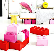 Lego Storage Containers Amazon - lego brick shaped storage carry case lego storage brick 8 red lego