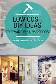 low cost ideas to revamp 70 u0027s style doors monica wants it