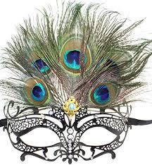 peacock masquerade masks masquerade mask princess metal rhinestone peacock feathers party