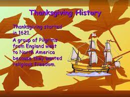 Significance Of Thanksgiving Day In America Thanksgiving Day Presentation