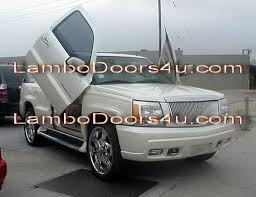 05 cadillac escalade ext cadillac escalade ext esv vertical lambo doors bolt on 02 03 04 05