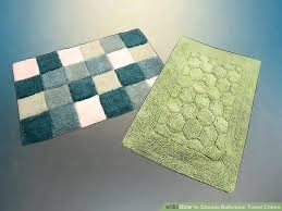 Aqua Towels Bathroom 3 Ways To Choose Bathroom Towel Colors Wikihow