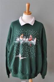 ugly christmas sweater 80s for women or mens xxxl jumpers