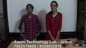 embedded systems u0026 robotics training in jaipur appin technology