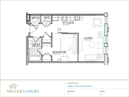 open one house plans floor plans