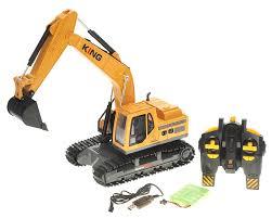 amazing remote control rc excavator crawler construction truck w