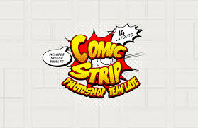 comic strip template u2014 medialoot
